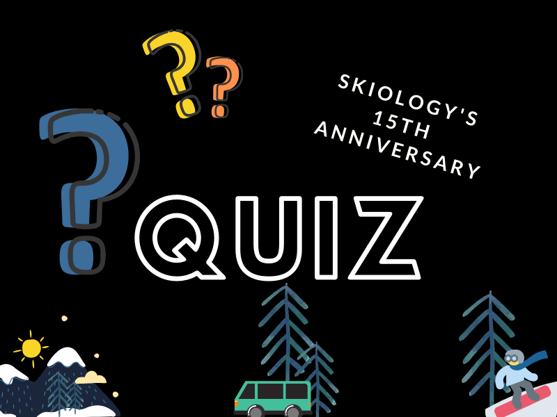 Skiology 15th anniversary quiz