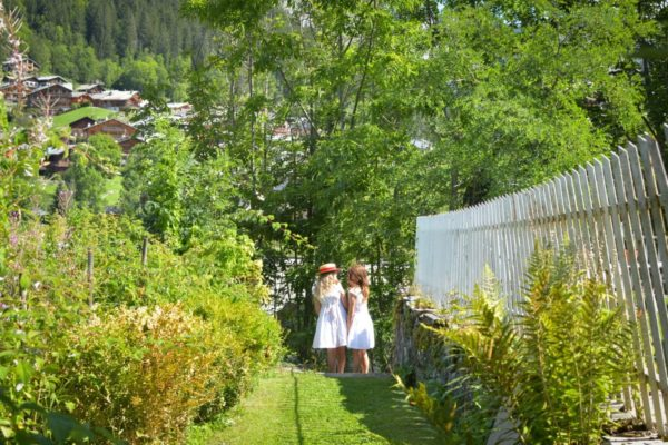 kids playing, a sunny summer day in Morzine