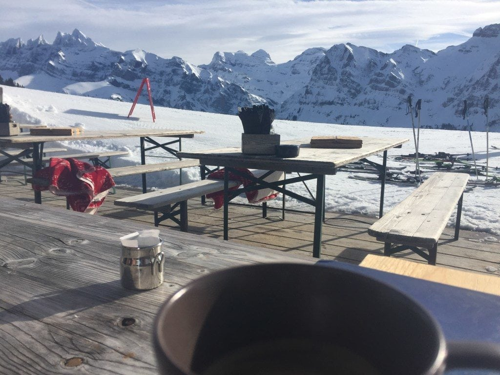 Coffee at Lapisa, in Chambery - Portes Du Soleil