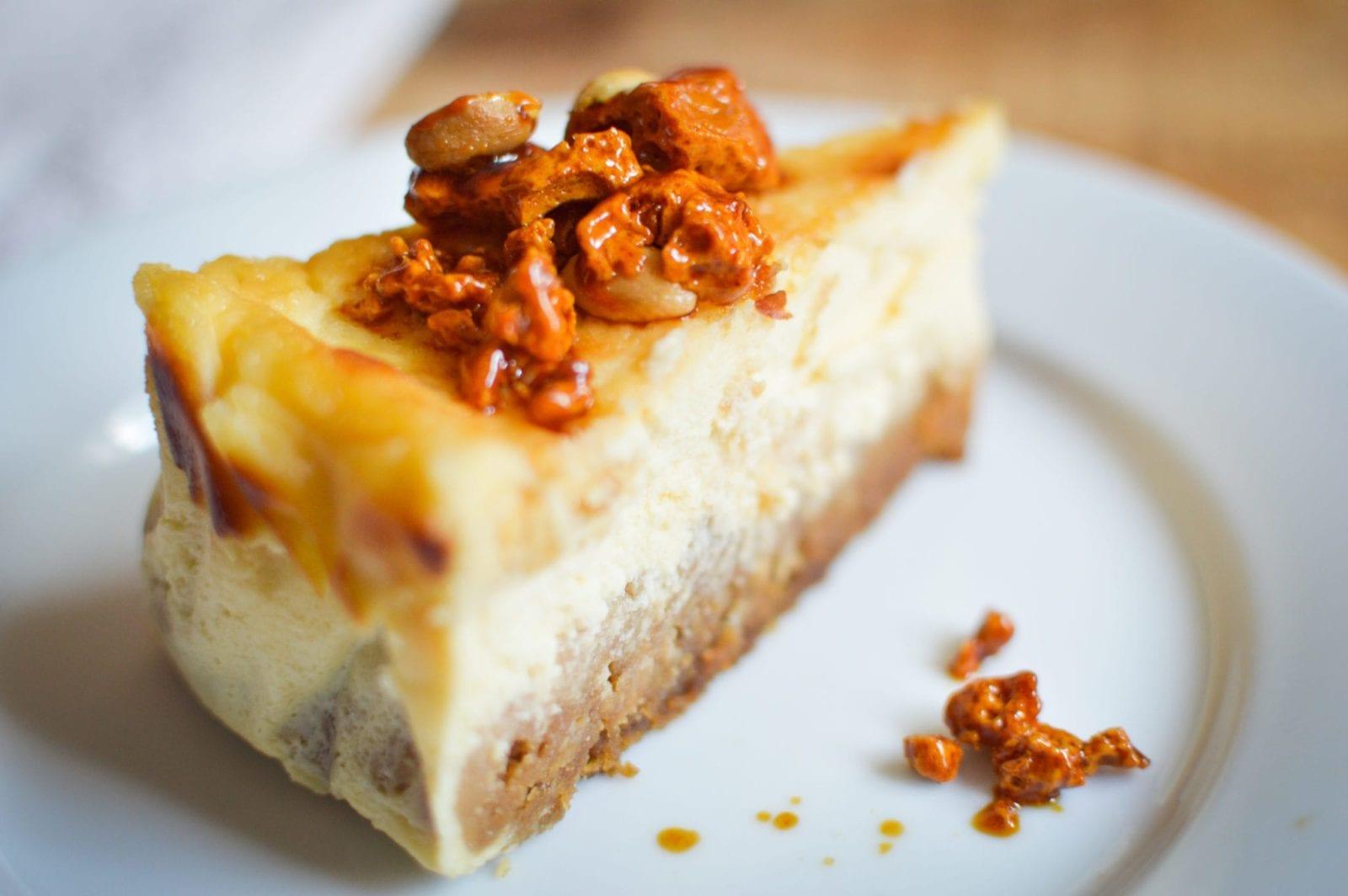 cheesecake peanut and honeycomb