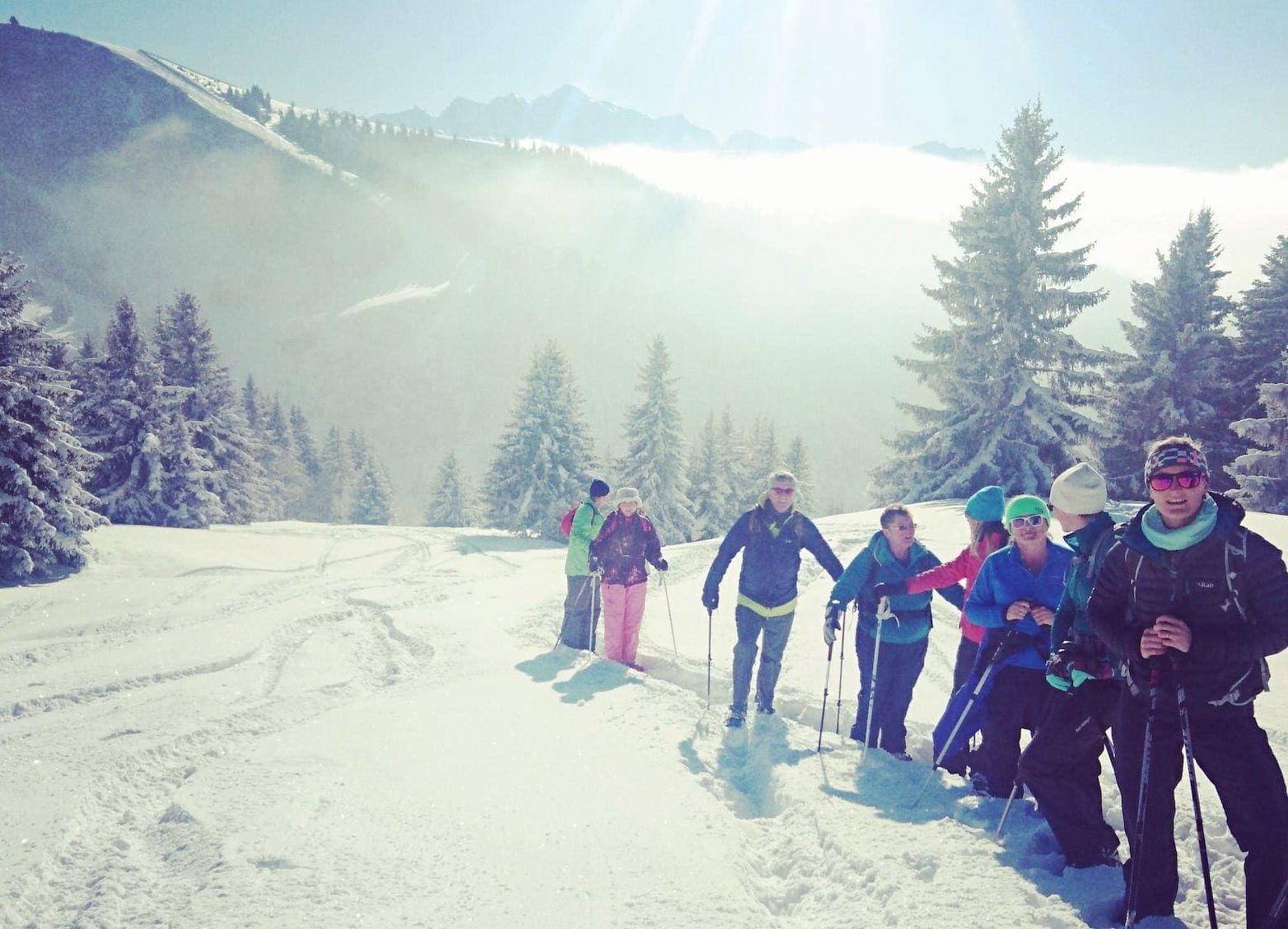 Magical Snow Trek Morzine group tour
