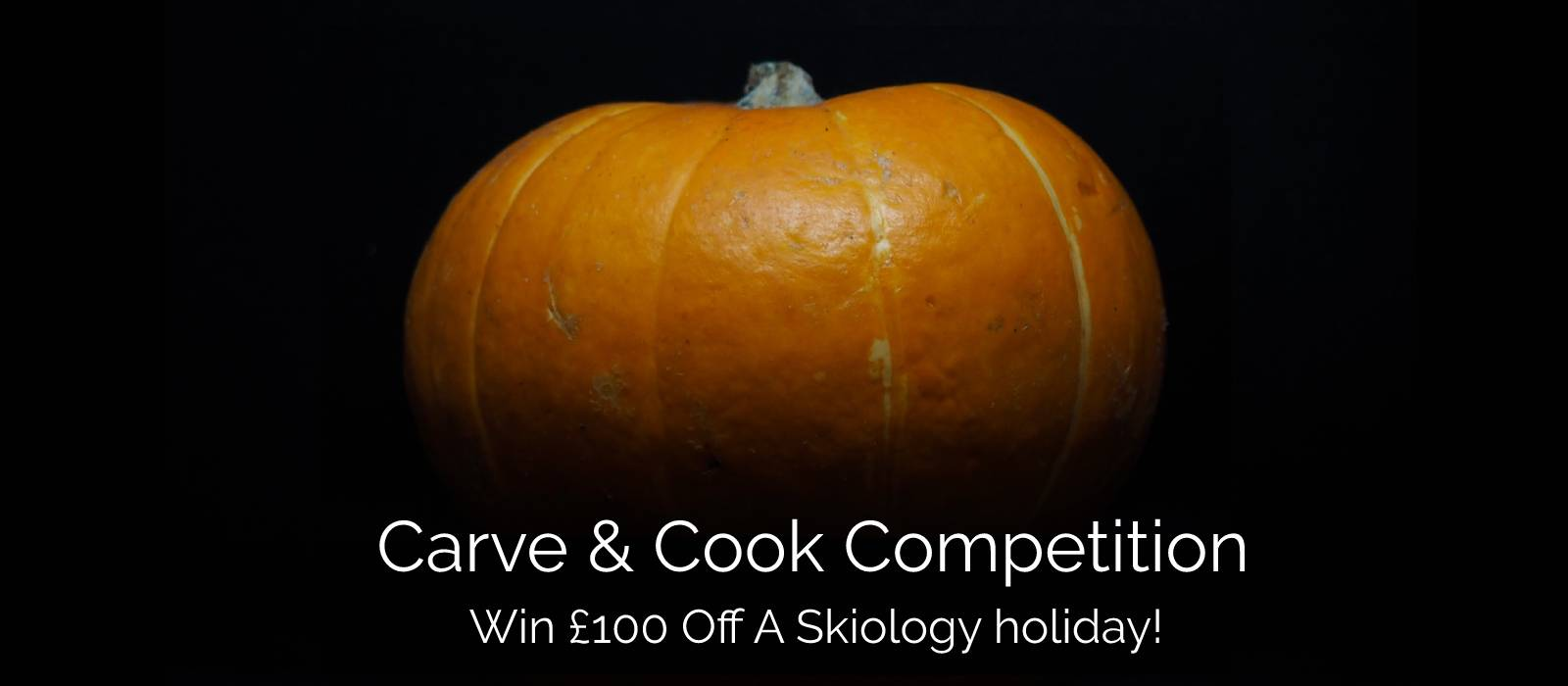 Skiology Halloween pumpkin carve and cook competition