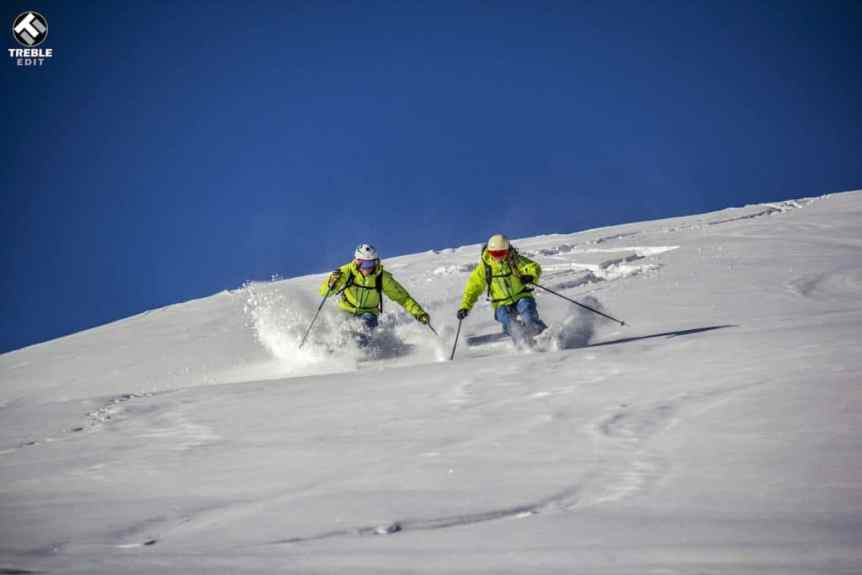 Off piste ski tuition