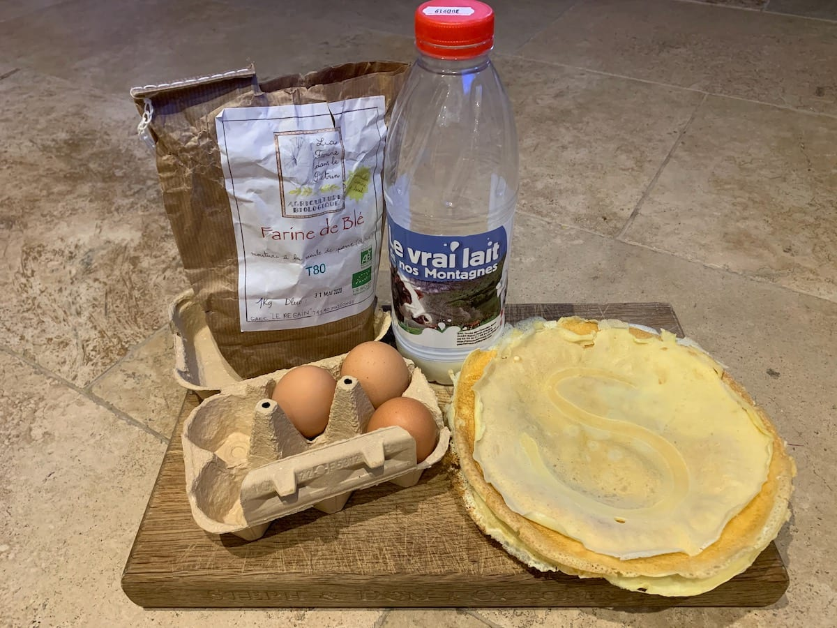 100% locally sourced pancakes