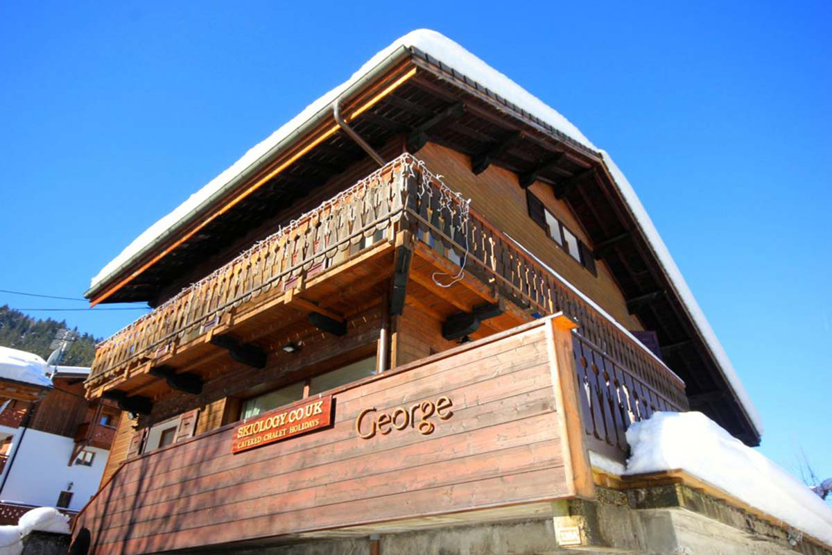 George catered ski chalet Morzine