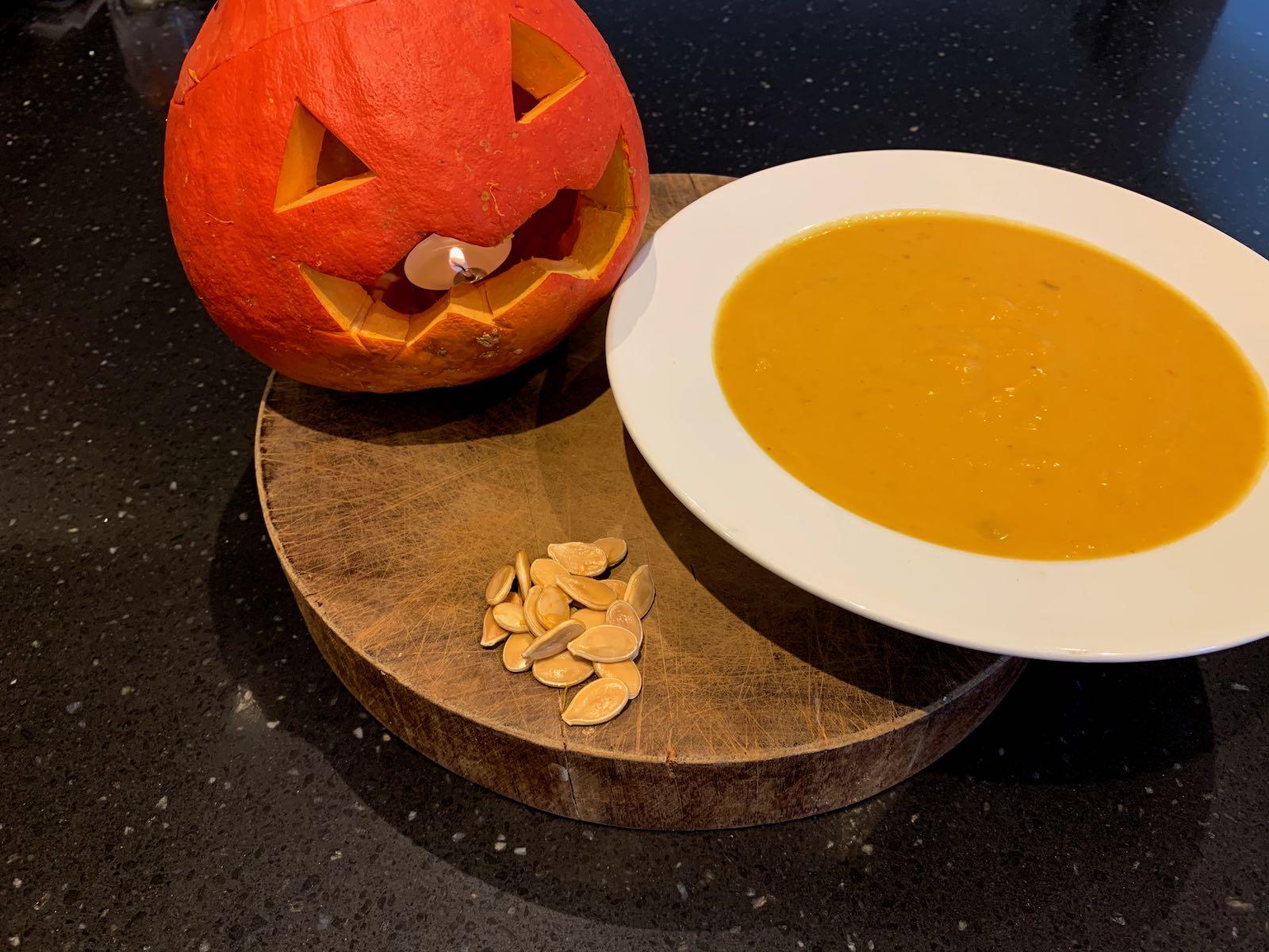Pumpkin inners recipe
