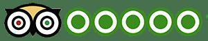 TripAdvisor rating logo